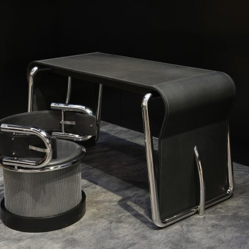 SKETCH TABLE & BUCKLE SEAT